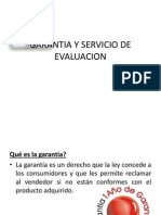 Garantia y Servicio de Evaluacion