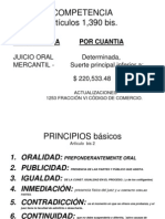 DIAPOSITIVAS JUICIO ORAL MERCANTIL MAESTRÍA.