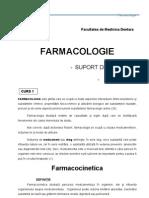 Curs Farmacologie