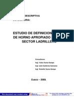 Horno Multicamaras para producción de ladrillos 1