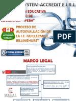 Proceso Autoevaluación en Colegio Guillermo E. Billinghurst
