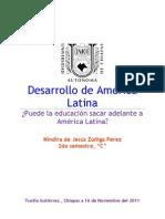 Desarrollo de America Latina