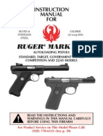 ruger mark iii autoloading pistol manual