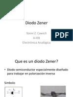 Diodo Zener Yonni Z. Cawich