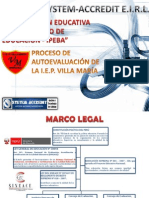 Proceso Autoevaluación en Colegio Villa María
