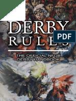 NFGB Derby Rules
