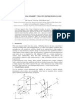 Three-dimensional Stability of Slopes With Building Loads
