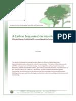 Cincs Carbon Sequestration Introduction