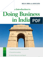 An Introduction to Doing Business in India 2012