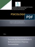 Aula 4_ Behaviorismo e Teorias Humanistas