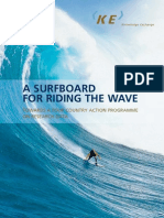KE Surfboard Riding the Wave Screen