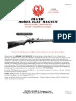 ruger 10-22 magnum parts list