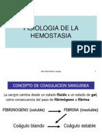 fisiologia hemostasia