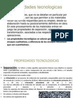 Propiedaes Tecnologicas y Mecanicas