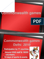 Corruption in common wealth games