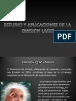 Estudio y Aplicaciones de La Emision Laser - Visualbee1
