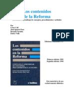 LAS ACTITUDES , CONCEPTUALIZACIÓN - Cesar Coll