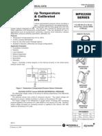 Sensor de presión analógico