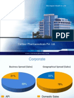 Centaur Corporate Profile 2009