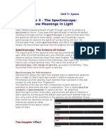 topic 3 - the spectroscope