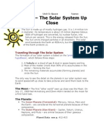 topic 7 - the solar system up close