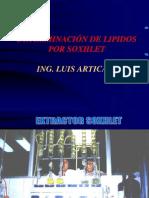 LIPIDOSPOR METODO SOXHLET