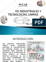 PROCESOS INDUSTRIALES Y TECNOLOGÍAS LIMPIAS