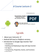 Android Beginner Lecture-2