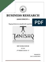 Research Regarding Buying Behavior