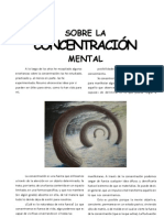 Sobre La Concentracion Mental