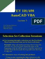 1.g. AutoCAD VBA Lecture 3