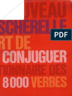 Bescherelle - L'Art de Conjuguer - Dictionnaire Des 8.000 Verbes