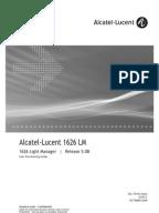 Alcatel 1626 Manual