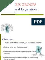 Topic, Focus Groups 2011,