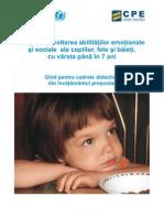 Dezvoltarea Abilitatilor Emotionale Si Sociale Ale Copiilor