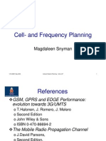 Cell- And Frequency Planning