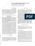 Rheological Properties of High-methoxyl Pectin and Locust Bean Gum Solutions in Steady Shear