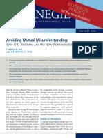 Avoiding Mutual Misunderstanding