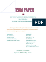 TERM PAPER ON FINACE