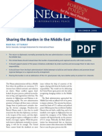 Sharing the Burden in the Middle East