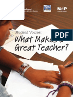 What Makes a Good Teacher