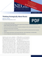 Thinking Strategically About Russia