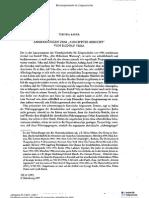 Bauer, Yehuda. Anmerkungen Zum Auschwitz Berich Von Rudolf Vrba, Vierteljahrshefte Fur Zeitgeschichte, 1997