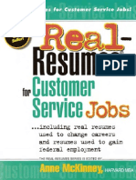 Real Resumes for Customer Service Jobs-Viny