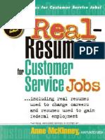 Real Resumes for Customer Service Jobs-Viny