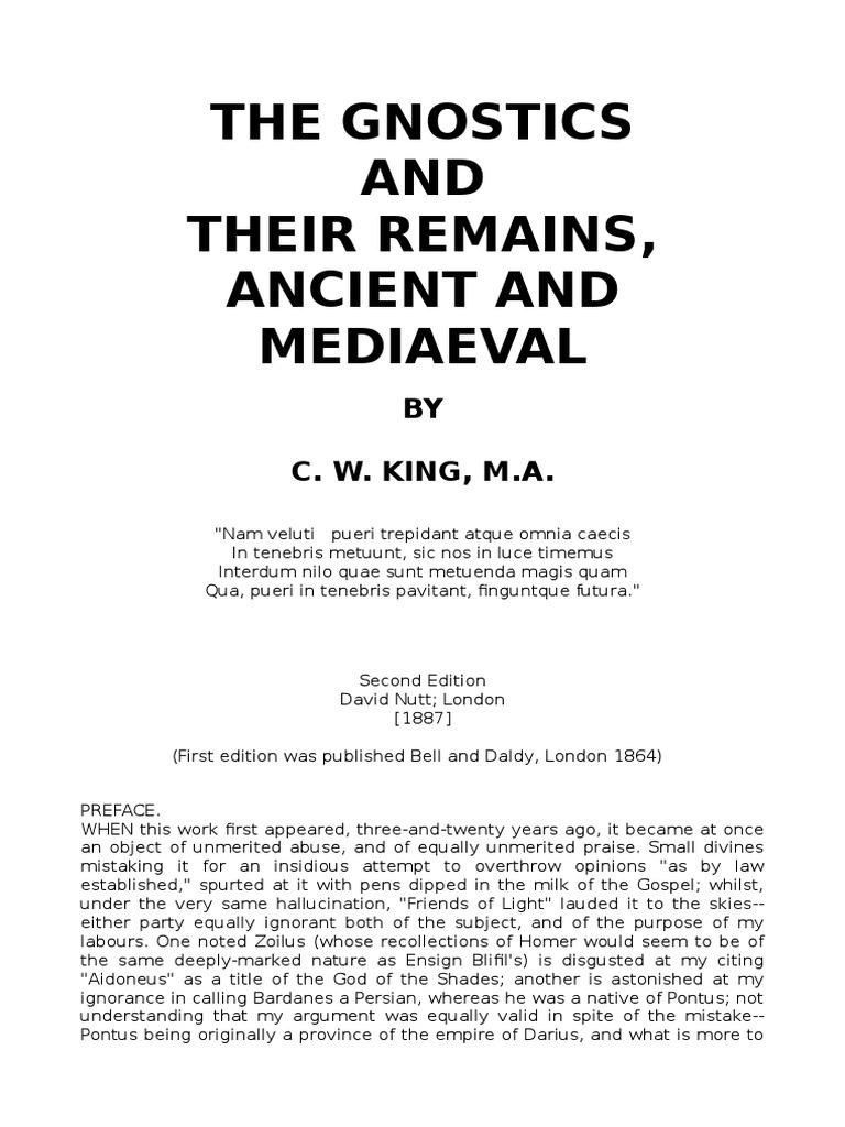 The Gnostics and Their Remains   Gnosticism   Gnosis 7b4cafef9f