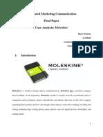 Moleskine's IMC Strategy