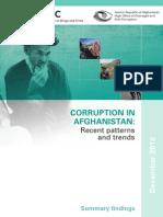 Afghan Corruption Feb.13 UNODC