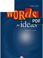 Words for Ideas - John Morley.kapak