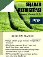 SEJARAH REFRIGERASI